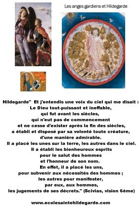 Les anges gardiens et Hildegarde