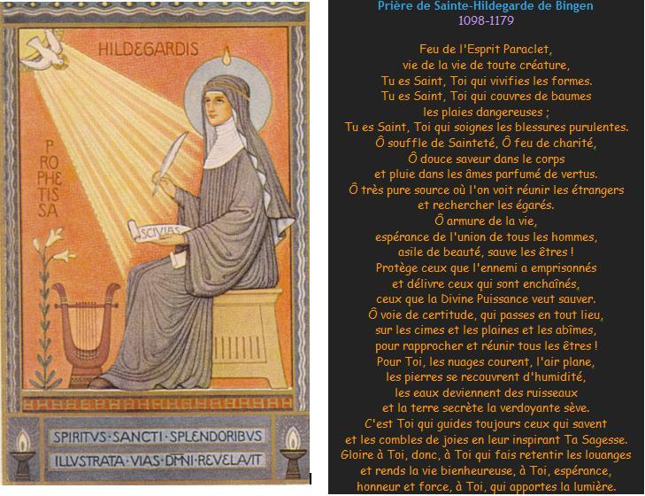 Prière de sainte Hildegarde